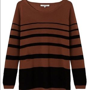 Gerard Darel Striped Merino Wool sweater